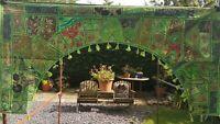 Indian Handmade Large Size Toran, Colourful Wall Hanging, Gate Door Decor Boho