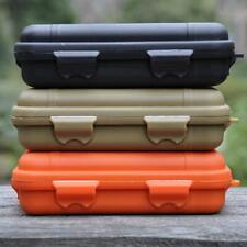 Envase de plástico impermeable al aire libre EDC de supervivencia Caja de Almacenamiento Cajas De Transporte