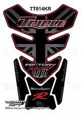 Triumph Triple Street Speed Daytona R Motorcycle Tank Pad Protector Motografix