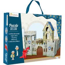 Avenue Mandarine 3D Scenes Puzzles for Children - Knights Castle