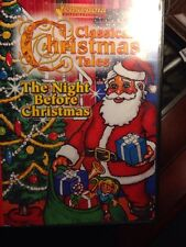 Classic Christmas Tales DVD.        THE NIGHT BEFORE CHRISTMAS