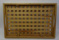mid century dansk design 60s Scandinavisches Kiefernholz Serviertablett Tablett
