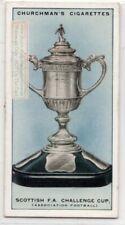 Scottish Football Association Cup  Soccer 1920s Ad Trade Card