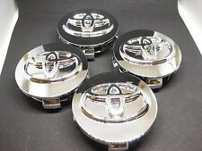 4X TOYOTA CHROME WHEEL RIM BADGE CENTER CAPS AVALON SOLARA COROLLA CELICA CAMRY