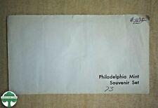 1973 UNCIRCULATED PHILADELPHIA MINT SOUVENIR SET WITH ORIGINAL ENVELOPE