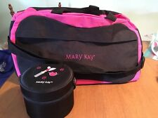 Mary Kay Black & Pink Duffle Bag And A Girlfriends Glam Bag