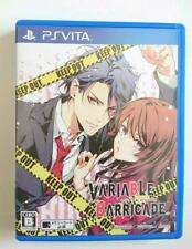 PSVITA/VARIABLE Barricade Love youth maiden Game from Japan