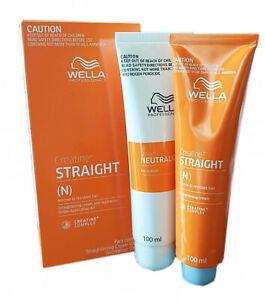 Wella STRONG Permanent STRAIGHTENER STRAIGHTENING Cream Resistant Hair