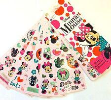 6 Sheets Disney Minnie Mouse Polkadot Fun Stickers Party Favors Teacher Supply
