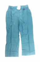 Womens Casual Comfort Green Trousers Size 14/L27