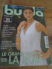 MAGAZINE BURDA TENDANCES LE GRAND RETOUR DE LA ROBE   N°42 JUIN 2003