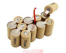 Ni-MH SC 14.4V 1600 2200 3000mAH Rechargeable Battery to DeWALT DWCB14 12SN P90