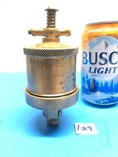 Lunkenheimer Lion No. 2 T Handle Automatic Brass Grease Cup Hit Miss Vintage