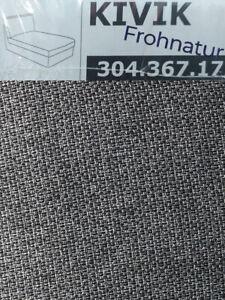 Ikea KIVIK Bezug für Recamiere Lejde grau schwarz NEU OVP 304.367.17 Ersatzbezug
