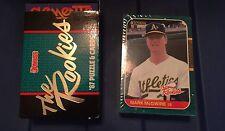 1987 Donruss The Rookies Baseball Card Set (56) McGwire, B. Jackson, Maddux F