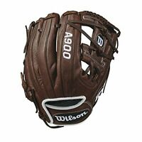 "2019 A900 Pedroia Fit Baseball Glove Dark Brown/White, 11.5"", Right Hand Throw"