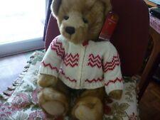 HARRODS 2011  CHRISTMAS BEAR FREDDIE NEW LABELLED IN HARRODS BAG