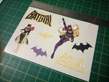 Batgirl Sticker Set,