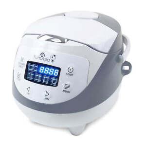 Yum Asia Panda Ceramic Rice Cooker With Fuzzy Logic (YUM-EN06), 3.5 cup/0.6L