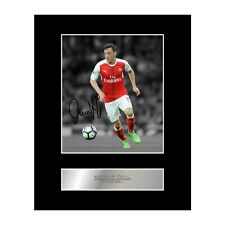 Mesut Ozil Signed Mounted Photo Display Arsenal FC