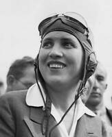 OLD LARGE PHOTO of Jacqueline Cochran American Female Aviation Pioneer 1940 3
