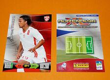 M. VAHIRUA STADE BRESTOIS BREST FOOTBALL FOOT ADRENALYN CARD PANINI 2010-2011