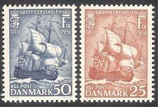 Briefmarken mit Schiffe, Boote Thema aus Dänemark
