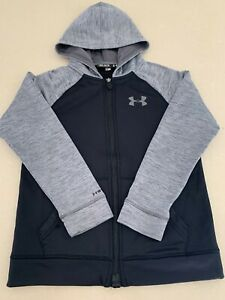 Under Armour Kids Zip Front Hoodie Jumper - Youth Size 10