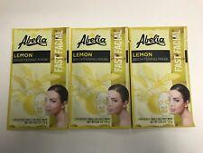 (3) Abelia LEMON Brightening Korean Face Mask - Brighten - Hydrate & Rejuvenate