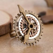 Rings Clock For Women Men Copper Rings Fashion Jewelry Party Jewelry Fingering