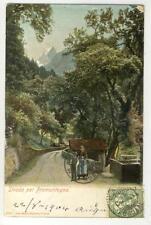 AK Strada per Promontogno, 1904