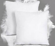 Cushion Pads Pack of 2 Duck Feather Cushions 18x18 inch Inserts Fillers Scatters