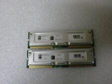 Viking 512MB (2 x 256MB) PC800-45 ECC Rambus RDRAM RIMM 256MB/8 R128188Z16N-40P