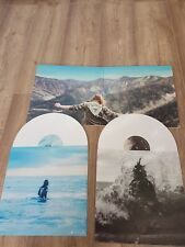 JULIEN DORE  & 2 LP vinyles blancs
