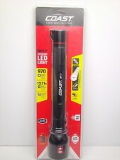 COAST LED Focusing Flashlight Black 3D Cell 970 Lumens 479 Metres Beam Distance