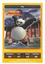 Carte Carrefour Dreamworks - kung fu panda - Po N°84