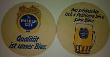 alter Bierdeckel HALDENGUT , Chur( Schweiz )