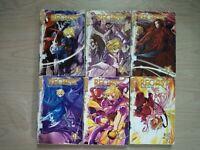 Recast 1-6, Complete Shonen Manga Series, English, 13+, Seung-Hui Kye