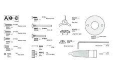 Metallteile-Beutel A TT-01 Tamiya 9415977