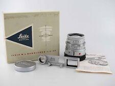 LEITZ LEICA proche Summicron 2 50 50 mm avec box et lunettes 81019