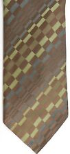 """Joe by Joseph Abboud Men's Silk Tie 61"""" X 3.5"""" Multi-Color Geometric Striped"""