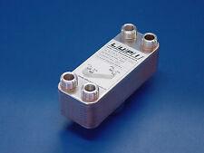 Edelstahl Plattenwärmetauscher B3-12A-20 52kW 0,24m² Solartauscher