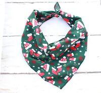 Winter Warmers Christmas Dog Bandana-Tie on Classic/Stocking Filler Xmas