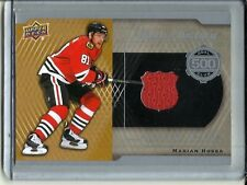 Marian Hossa 16/17 Upper Deck 500 Goal Club Game Used Jersey