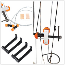 Set 2 Portable Metal Bow Press +Quad Bracket for Compound Bow Hunting Archery