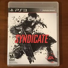 Syndicate (Sony PlayStation 3, 2012) PS3 - Complete & Tested!!!