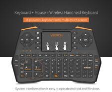 Mini Funk Tastatur mit Touchpad kabellos Wireless Keyboard PC/TV BOX /PS3 2,4GHz