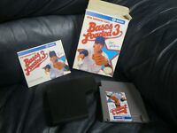 Bases Loaded 3 Ryne Sandberg Nintendo NES Game