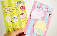 Q-Teen:Cute Ice Cream Sticky Note Post-it Memo Sticker Notes Student Gift Office