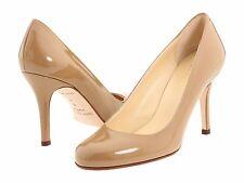 Kate Spade NY Italy KAROLINA Patent Leather Pump Camel 5.5